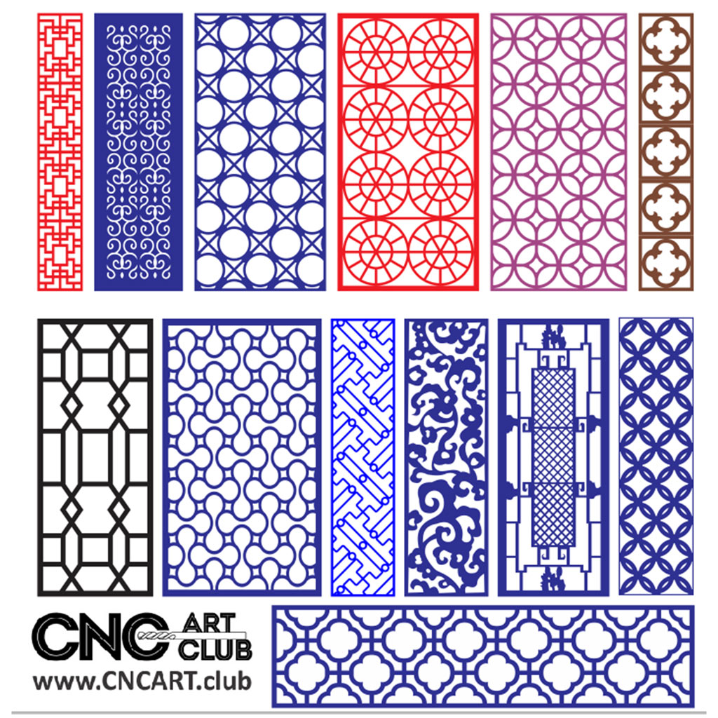 Fantasyfree Dxf Shape Files For Cnc Cutting