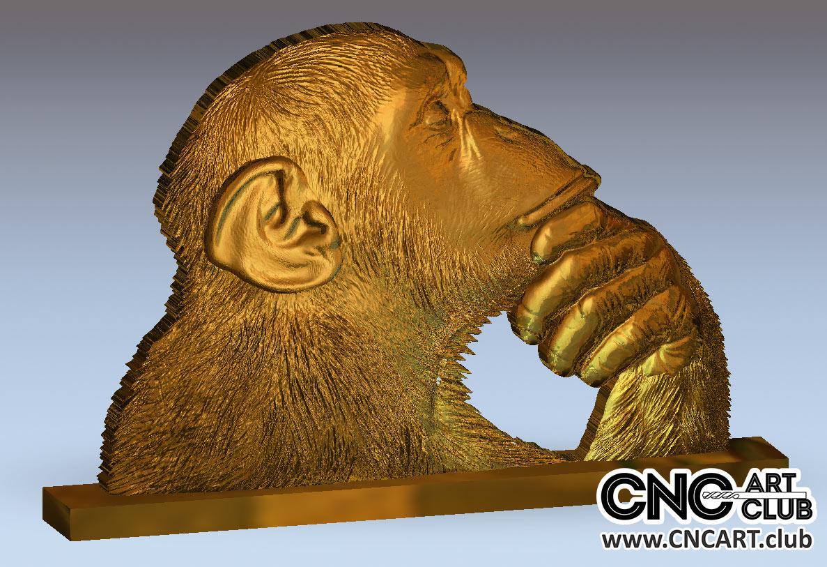 Amazing 3d Stl Files Of Animals For Cnc Work