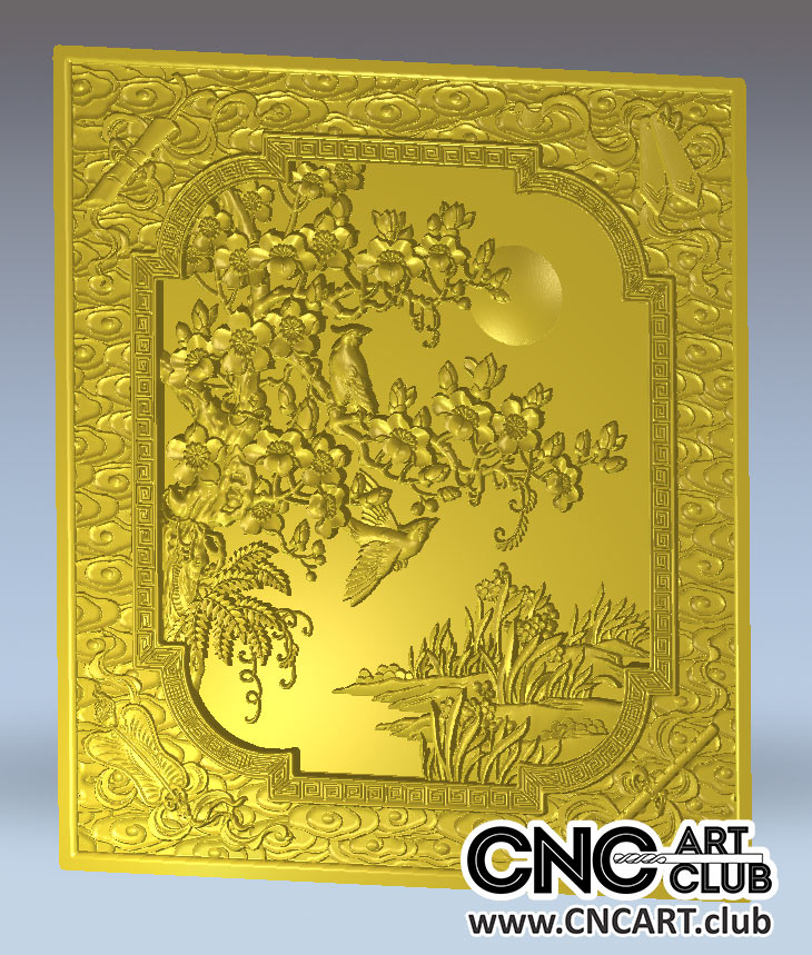 Download And Amazing Landscape Designs For CNC