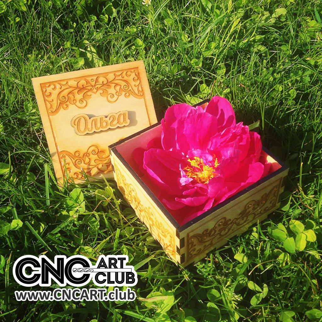 Decorative Box Plans Free : Wooden box design for gift with ornamets