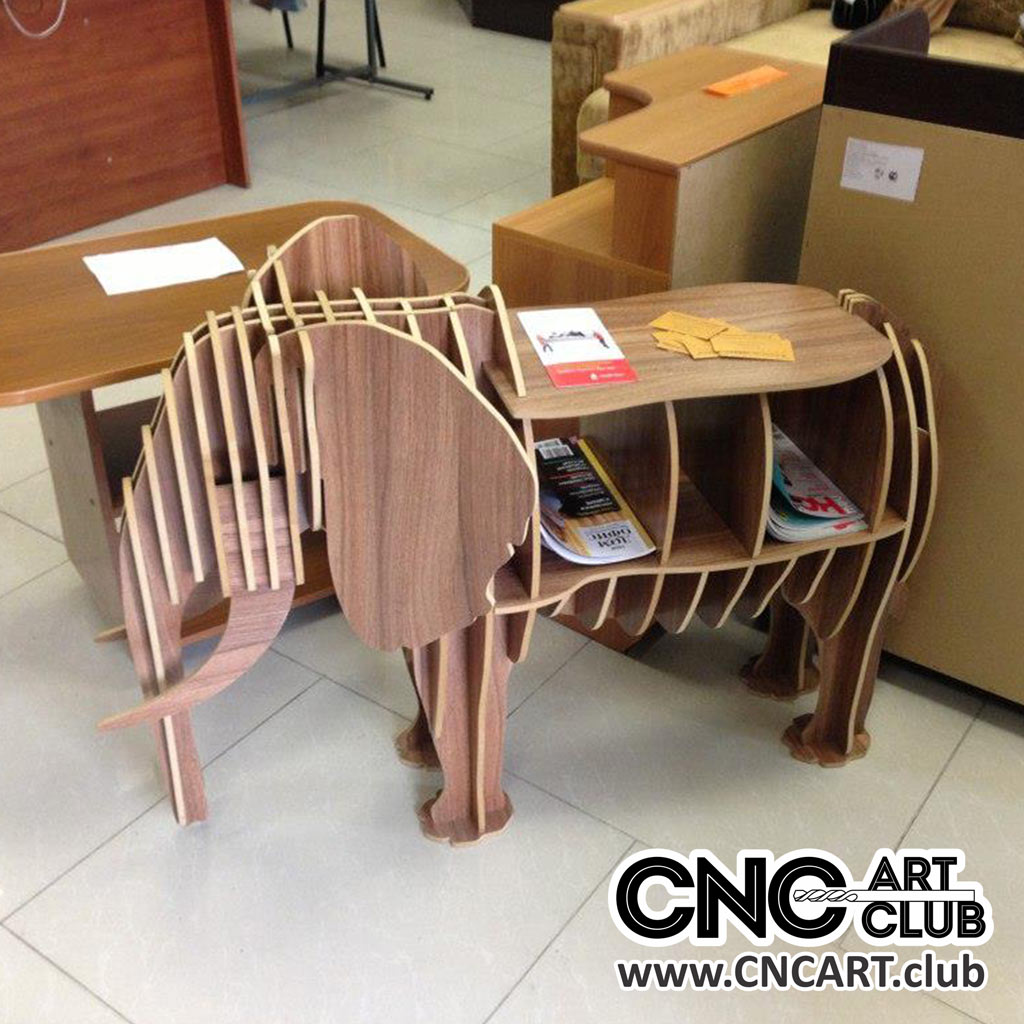 Fantastic Elephant Style Kids Shelf And Table Dxf Plan Caraccident5 Cool Chair Designs And Ideas Caraccident5Info
