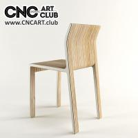 2D 30006 Elegant Chair Furniture Design Cnc File Download