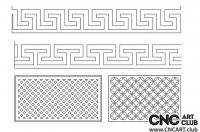 2D 50004 Free Lattice Diveder Design Pattern Download