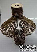 Download Wooden lamp for laser machine cut