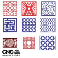 2d Lattice 1001 Decorative Lattice Patters Kit For Cnc Machining