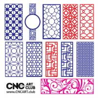 2d Lattice 1016 Collection Of Vector Lattice Design For Cnc Cut