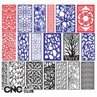 2d Lattice 1022 Free Vector Floral Design Kit For Lattice Cut In Cnc Machine