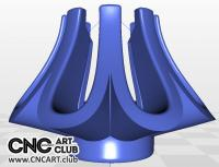 3D 20002 Decorative Holder Download Free STL File For CNC