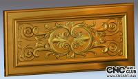 3D 20007 Decorative Panel STL Design File For CNC Work