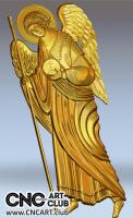 3D 40006 Archangel Gavriil Reliegion STL Design For CNC Carving Download