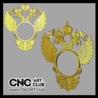3d Clocks 101 High Quality Designs Of 3d Clocks For CNC Carving. Russian Emblem