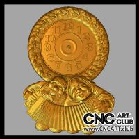 3dclock 1002 Decorative Clock STl File For Download