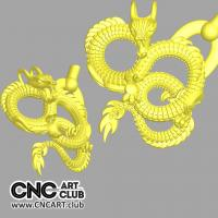 Overlay 1010 Angry Snake Overlay For Cnc Router Woodworking Download STl File