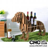 Animals 1001 Dog Taxa 2D DXF File For Wine Shelf