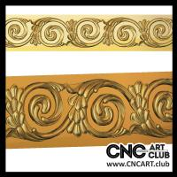 Baugettes 1012 Download Free Decorative Stl File For Baugette Fo Cnc Carving