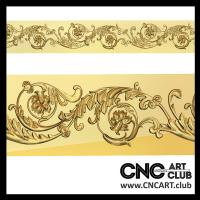 Baugettes 1013 High Quality Designs For CNC Machine Carving And Cutting Artcam File