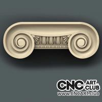 Capitel 1008 Downloa  Cnc 3D Stl Capitel Decorative File