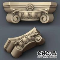 Capitel 1011 Antique Art Decorative Design For Cnc Machining