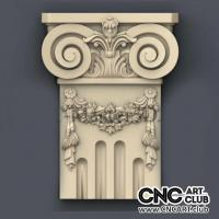 Capitel 1013 Decorative Capital Design For Cnc Machining