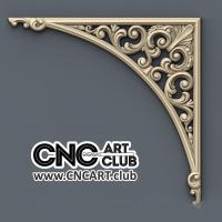 Corner 1011 Download 3D Stl Design For Sharp Decorative Corner Model For CNC Woodworking
