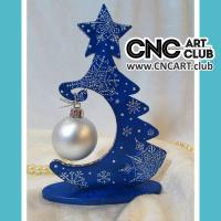 Dec 1001 Small Decorative Christmas Tree For Laser Machine