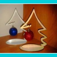 Dec 1002 Small Desktop Christmas Tree For Laser Cut