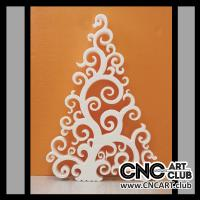 Dec1004 Decorative Tree Plan For Laser Cut