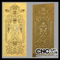 Doors 1006 Ornamental Decorative Doors Stl File For Cnc Carving