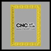 Frames 1004 Decorative Frame For Mirrors STL File To Download