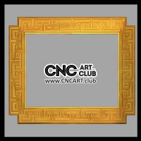 Frames 1005 Decorative Frame STL File With Versacy Download