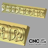 Molding 1003 Decorative Molding 3d STl File For Cnc Machine Work Download