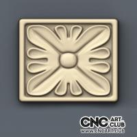 Rosette 1001 Decorative Rosette Design For CNC Machining. Download Stl File