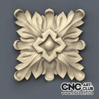 Rosette 1013 CNC Woodworking File For Decorative Interior Rosette Design