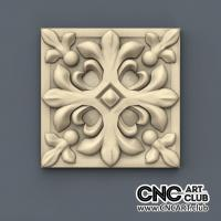 Rosette 1014 Antique Style CNC Woodworking File For Decorative Interior Rosette Design